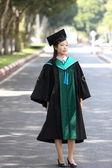 La jeune fille en Graduation day — Photo