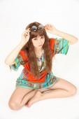 Fashion dress — Stock Photo