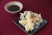 TEMPURA japanisches Essen — Stockfoto