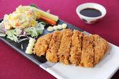 Tonkatsu , Pork cutlet — Stock Photo