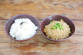 Rice with fried rice — Stockfoto