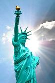 New York's Statue of Liberty — Zdjęcie stockowe