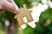 Build my houses — Zdjęcie stockowe