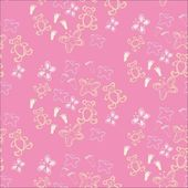 Baby seamless pattern. — Stock Vector