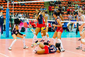 Pallavolo world grand prix 2014 — Foto Stock