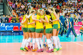 Volleyball World Grand Prix 2014 — Stock Photo