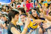 Volejbal world grand prix 2014 — Stock fotografie