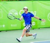 "The ATP Challenger Tour "" Bangkok Open 2014"" — Stock Photo"