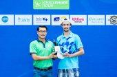 """The ATP Challenger Tour """" Bangkok Open 2014""""   — Stock Photo"""