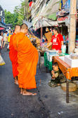 Buddhist monk — Стоковое фото