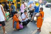 Buddhistischer mönch — Stockfoto
