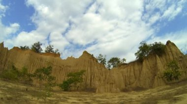 Soil textures (hom chom), Nan Thailand. — Stock Video