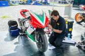 Championnat de Superbike de Thaïlande 2015 1ère manche — Photo