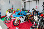Thailand SuperBikes Championship 2015 Round 1 — Stock Photo