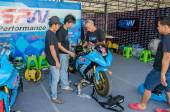 Thailand SuperBikes Championship 2015 Round 1 — Stock Photo