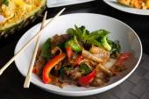 Drunken Noodle Dish — Stock Photo