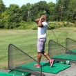 Driving Range Swing Practice — Stock Photo #60853813