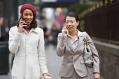 Business Women Walking — Stock Photo