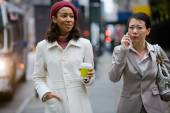 Business Women Walking — Stock Photo