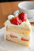 Strawberry Shortcake — Stock Photo