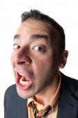 Shocked Business Man — Stock Photo