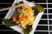 Crispy Thai Shrimp Dish — Stock Photo