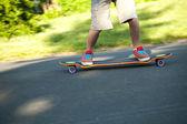 Longboarder Closeup — Stock fotografie