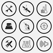 Tehnology icons set. — Stock Vector