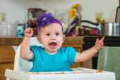 Baby Has a Tantrum — Stock Photo