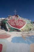 Salvation Mountain Outsider Art Installation — Stock Photo
