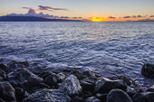 Maui Sunset at Shore — Stock Photo