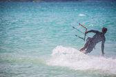 Male Kit Surfer — Stock Photo