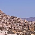 Hillside Homes in Cappadocia Turkey. — Stock Photo #66227063