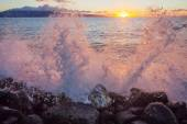 Lahaina Sunset — Stock Photo