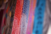 Colorful Turkish Scarves — Stock Photo