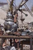 Table of Trinkets in Cappadocia Turkey — Stock Photo