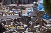 Table of Trinkets — Stock Photo