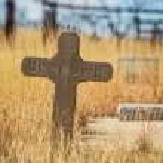 Unknown Stone Grave Marker — Stock Photo #67536773