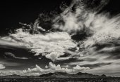 Monsoon Clouds in Arizona, USA — Stock Photo