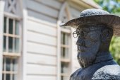 Father Damien Statue — Stock Photo