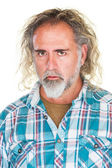Man with Blank Stare — Stock Photo