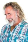 Flirtacious Bearded Man — Stock Photo