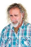 Worried Man with Beard — Stock Photo