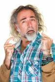 Haughty Middle Aged Man — Stock Photo