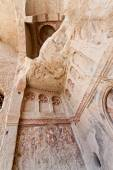 Sandstone Church Detail at Cappadocia — Stock Photo