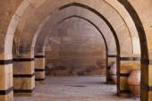 Stone Arches on Turkish Caravansary — Stock Photo