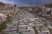 Remains of Road Through Antioch Pisidian in Turkey — Stock Photo