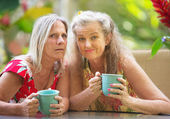 Pair of Doubting Friends — Stock Photo