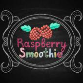 Smoothie bar. Lettering. — Stockvektor