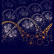 Dark fractal artwork, abstraction clockwork — Stock Photo #55891161